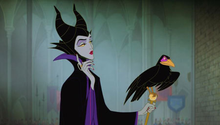 This is the original animated Maleficent that we all know and … love?