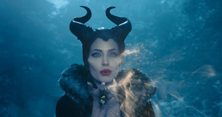 Maleficent casting a spell