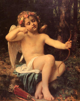 In Roman mythology Cupid is the son of Venus