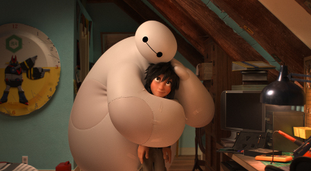 The newest Disney superheroes: Big Hero 6!