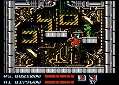 Teenage Mutant Ninja Turtles - NES