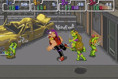 TMNT 2: The Arcade Game - Arcade/NES