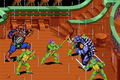 TMNT 4: Turtles In Time - Arcade/Super Nintendo