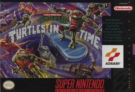 TMNT 4: Turtles In Time - Snes