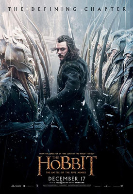 The Hobbit Poster featuring Luke as Bard