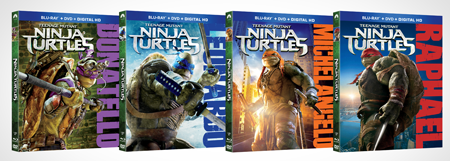 Target TMNT Blu-ray Covers