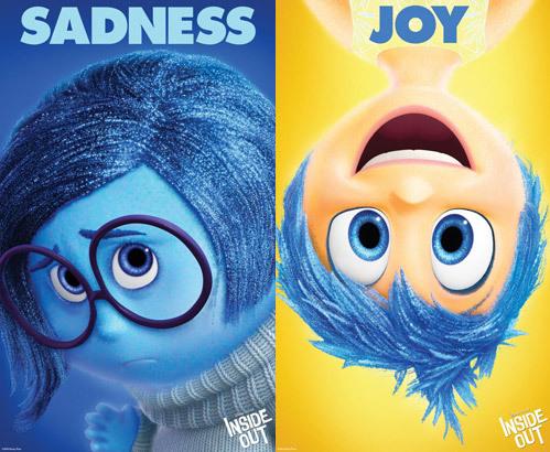 Sadness and Joy Posters