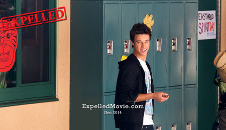 Felix (Cameron) at school about to be expelled