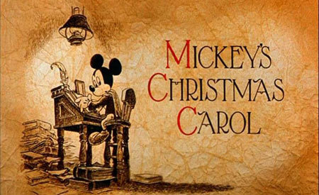 Mickey Mouse wins Christmas!