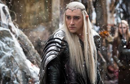 Elf king Thranduil (Lee Pace)