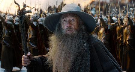 Gandalf talks peace