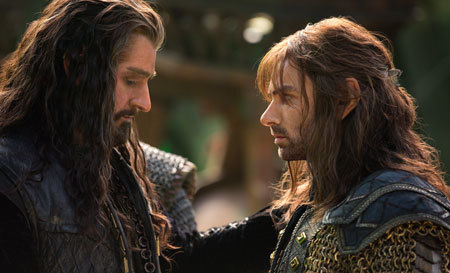 Dwarf king Thorin with Kili