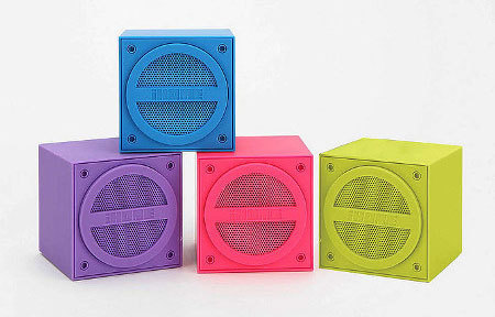 The iHome Speakers sound as good as they look