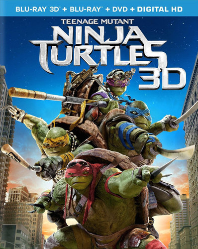 Teenage Mutant Ninja Turtles is available on Blu-Ray NOW!