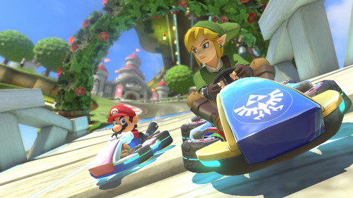 Mario Kart 8 is nominated for Best Family Game and Best Racing Game!