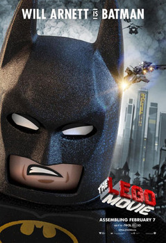 Batman voiced by Will Arnett