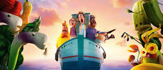 Feature cloudy with a chance of meatballs 2 feat