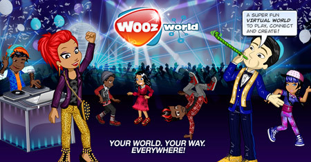 Visit Woozworld today to meet new friends!