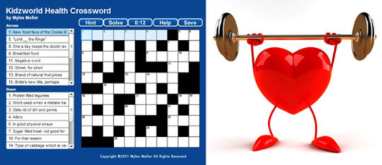 Health Crossword Puzzle