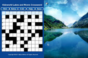 Lakes and Rivers Crossword Puzzle