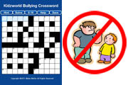 Bullying Crossword Puzzle