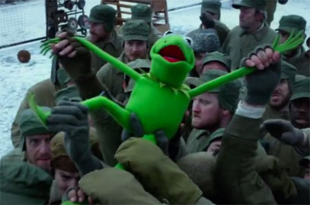 Kermit in Russian prison