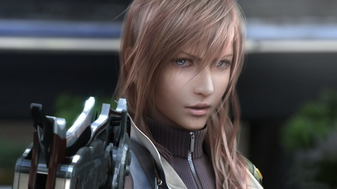 Lightning from Final Fantasy 13 Trilogy