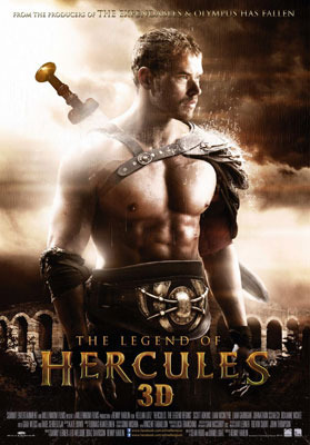 The Legend of Hercules 3D Poster