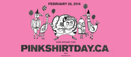 Feature pink shirt day feature