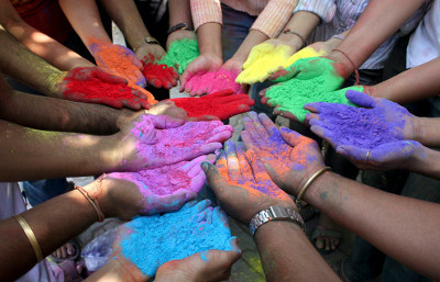 Holi is a Hindu festival of color!