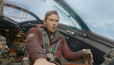 Chris Pratt as Peter Quill/Star-Lord
