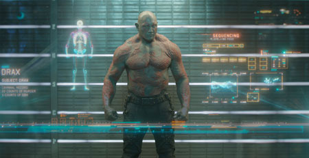 Dave Bautista as Arthur Douglas/Drax the Destroyer