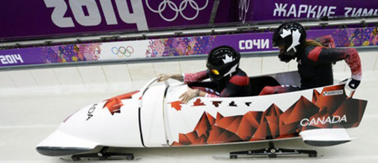 Bobsled, Skeleton
