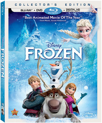 Frozen Blu-ray   DVD Collector's Edition