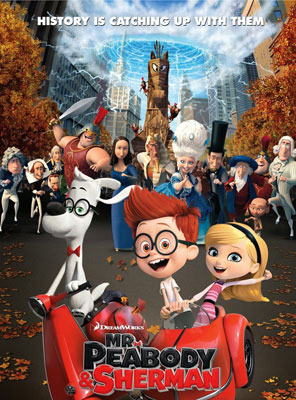 Mr. Peabody and Sherman Poster