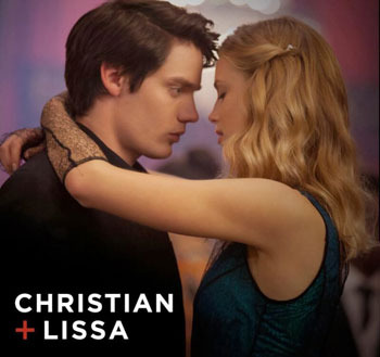 Christian (Dominic) and Lissa (Lucy)