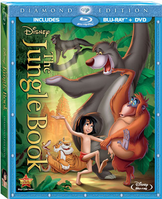 The Jungle Book: Diamond Edition Blu-ray Cover