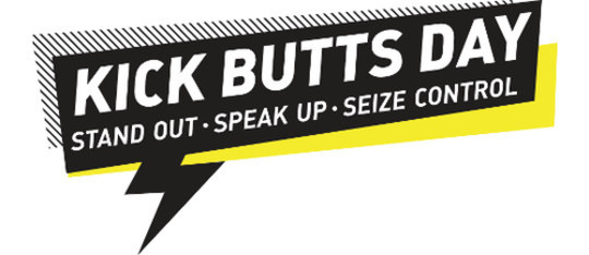 The Campaign for Tobacco-Free Kids Kick Butts Day!