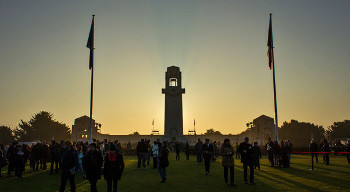 Anzac Day service held at dawn