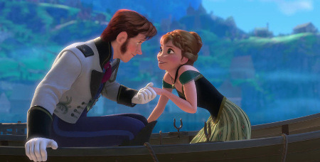 Anna and Hans meeting for the first time