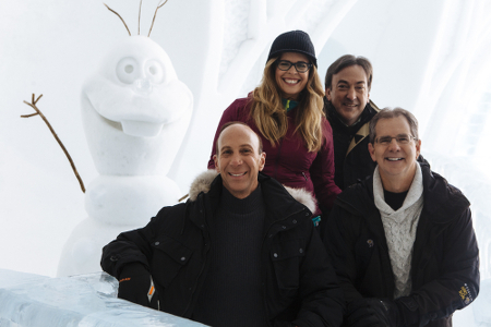 Olaf, Peter, Jennifer, Michael and Chris at Hotel de Glace