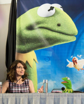 Tina talks about a private movie moment with Kermit