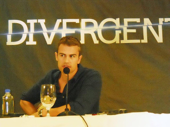 Theo James at our interview