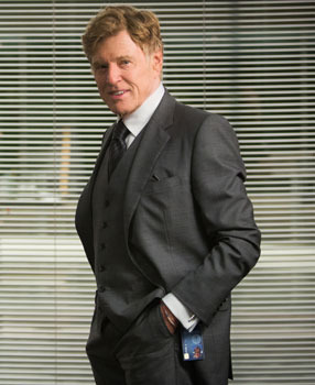 Robert Redford as Alexander Pierce