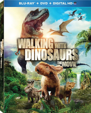 Walking With Dinosaurs The Movie Blu-ray Cover