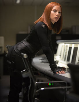 Black Widow (Scarlett Johansson) on a mission
