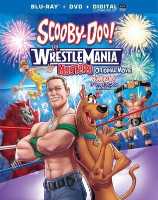 Scooby-Doo! WrestleMania Mystery Blu-ray