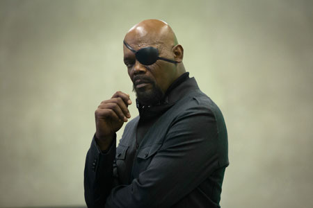 Samuel L. Jackson as Nick Fury