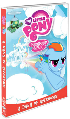 My Little Pony: A Dash of Awesome DVD
