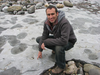 Paleontologist Stephen Brusatte